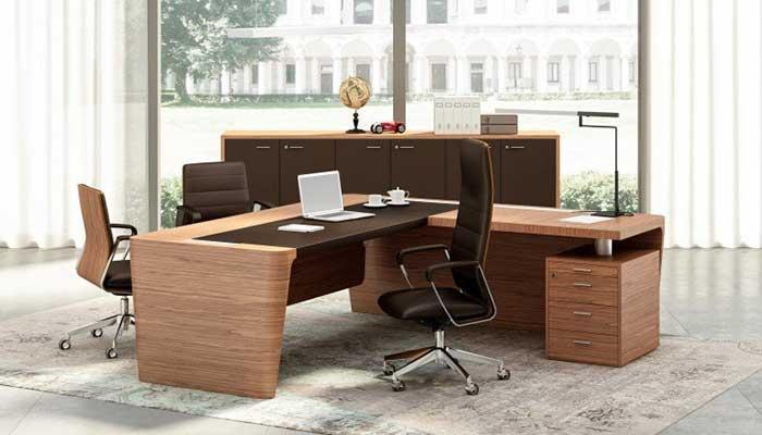 mesas de direccion para despachos modernos