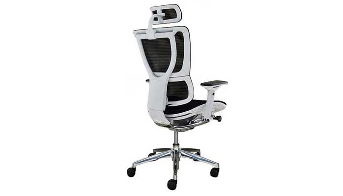 sillas de oficina comodas ioo blanca