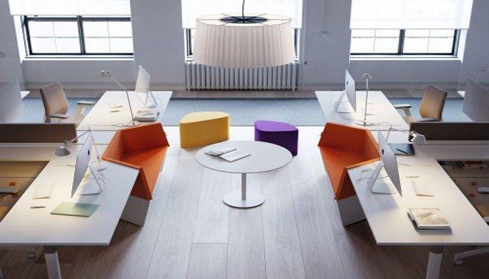 mobiliario para espacios coworking