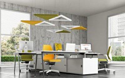 iluminación de techo para oficinas