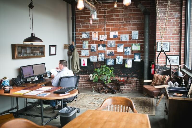 colores oficina despacho