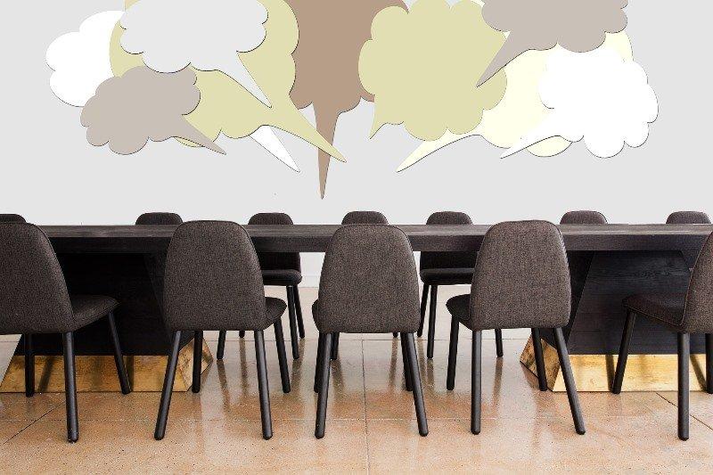 decoracion pared oficina